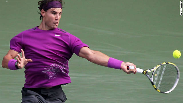 Rafael Nadal is hoping to clinch a 47th career title at the Japan Open in Tokyo.