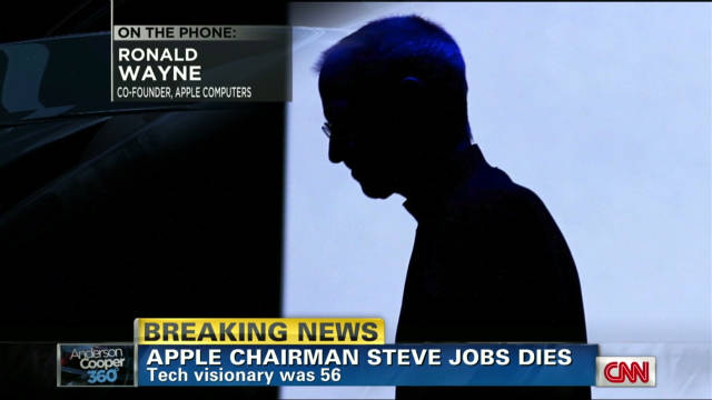 Apple co-founder shares memories of Jobs