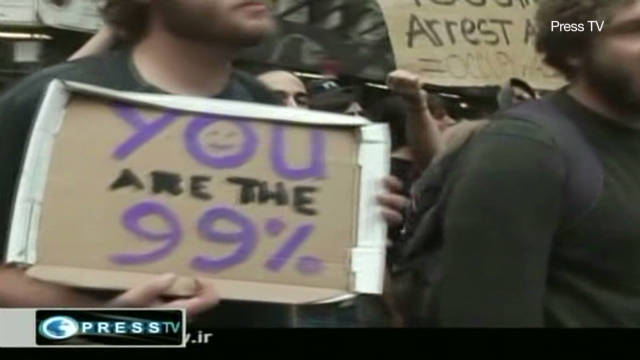 Iran State TV on Wall Street protests
