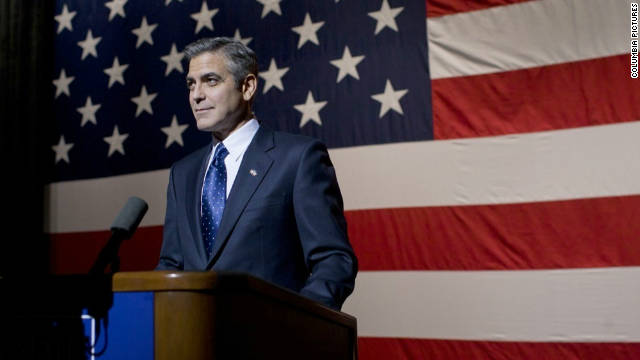 "George Clooney stars as Gov. Mike Morris in ""The Ides of March."""