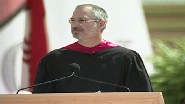 an analysis of the speech steve jobs gave at stanford universitys graduation Fagstoff: steven paul steve jobs (1955 - 2011) was an american inventor,  entrepreneur  how to analyze a short story  in 2005 he held the  commencement address at stanford university  you are graduating from high  school and the principal has asked you to give the commencement speech.