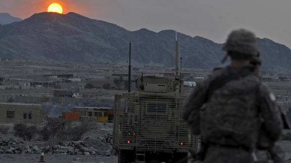The Taliban has long demanded the withdrawal of what they see as infidel troops from sacred Afghan soil.