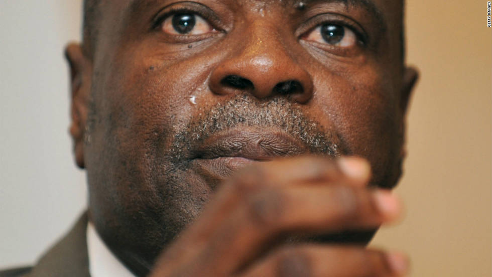 "FIFA provisionally suspends Amos Adamu, pictured, and Reynald Temarii three days after Britain's Sunday Times newspaper claimed they offered to sell their World Cup votes. Adamu, head of the West Africa Football Union, denies the charge that he asked for $800,000 to be paid to him directly so four artificial pitches could be built in his native Nigeria. ""I am confident that my actions, the full and true extent of which were not detailed in the story published, will demonstrate not only my innocence and integrity, but also my commitment to football and to FIFA,"" the 57-year-old says in a statement."