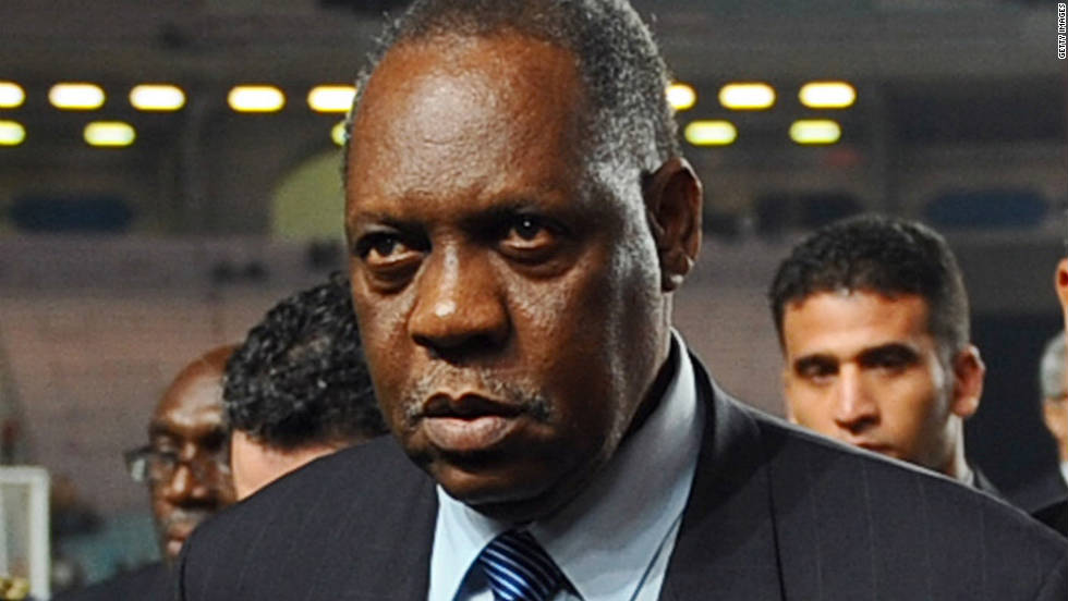 Issa Hayatou from Cameroon is one of three FIFA officials -- the others Nicolas Leoz from Paraguay and Ricardo Teixeira from Brazil -- who are named in a BBC program which alleges they took bribes from the ISL marketing company who secured World Cup rights in the 1990s. All three had votes voting in the December 2 decisions on the hosts for the 2018 and 2022 World Cups.