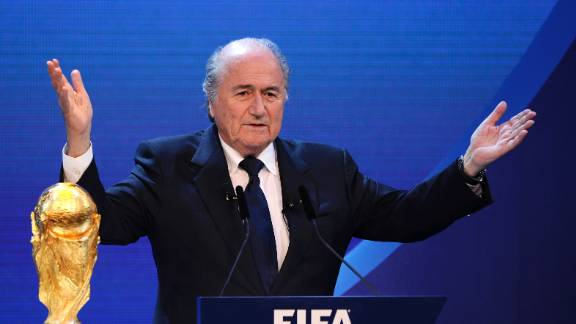 Despite a last minute attempt by the English FA to postpone the vote -- a proposal which garnered just 17 out of the available 208 votes -- Blatter is re-elected for a fourth term as president of FIFA at the 61st FIFA Congress at Hallenstadion in Zurich. He vows to learn from past mistakes and undertake a reform agenda.
