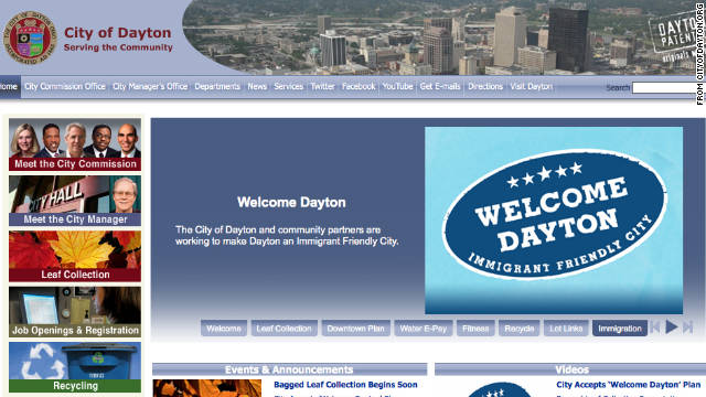 "The city of Dayton, Ohio, wants to become the friendliest place for immigrants and implemented ""Welcome Dayton"" this week."