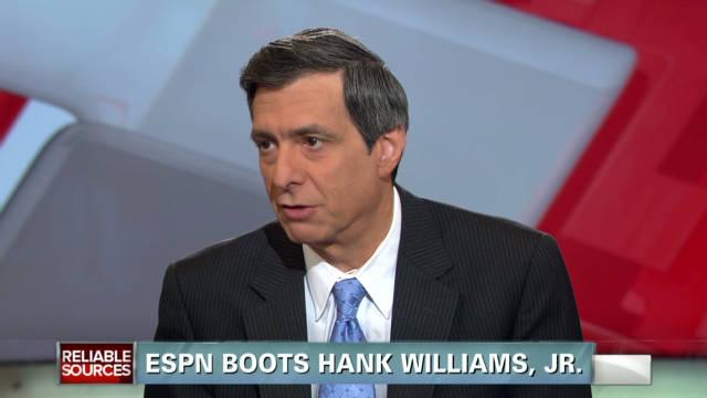 ESPN boots Hank Williams Jr