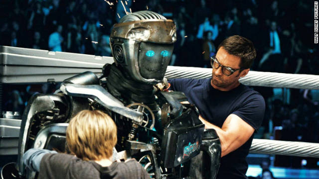 """Real Steel,"" the PG-13 movie's respectable opening must also come as a relief to star Hugh Jackman."
