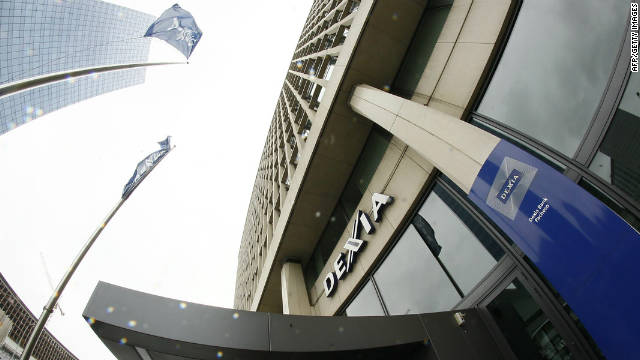 Belgium's federal government has opted to take over Dexia Bank Belgium including its retail network for ?4bn