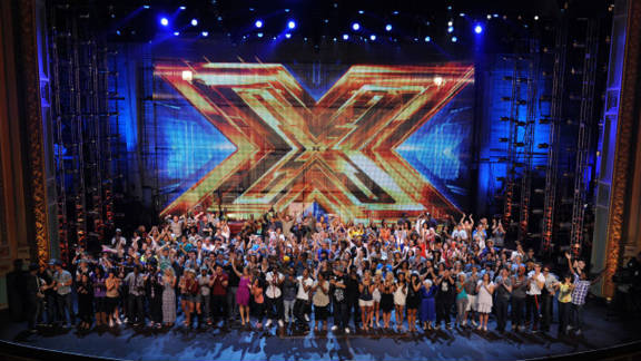 """32 semifinalists remain on """"X Factor, """" split into four categories: girls under 30, boys under 30, singers over 30 and groups."""