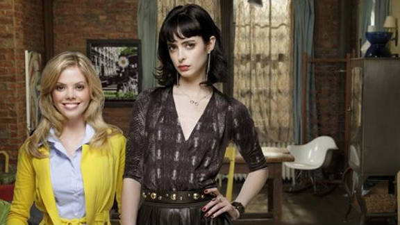 "The official new title of Dreama Walker and Krysten Ritter's show is ""Don't Trust The B----- in Apartment 23."""