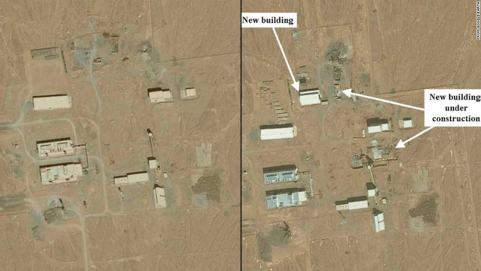 New Satellite Imagery Shows Iranian Nuclear Sites Watchdog Group - Satellite map sites