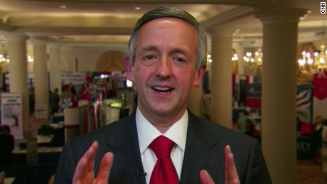 "Rev. Robert Jeffress of Texas megachurch First Baptist Dallas called the Mormon faith a ""cult."""