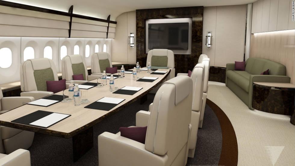 Boeingu0027s Luxury Offices In The Sky | CNN Travel