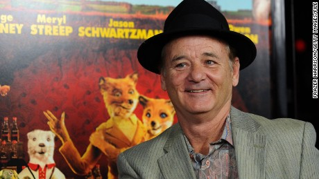 "Actor Bill Murray attends the premiere of ""Fantastic Mr. Fox"" in Los Angeles, California on October 30, 2009"