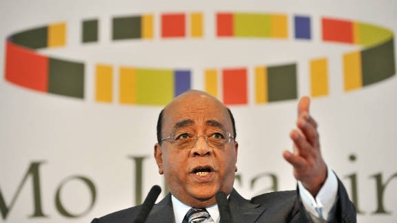 """Mo Ibrahim's message to dictators: """"Please retire, otherwise Tahrir square is coming to your country."""""""