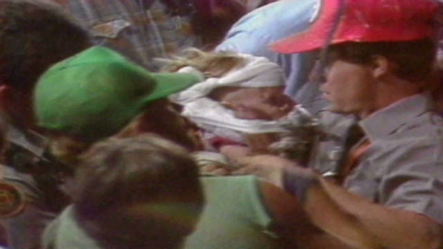 1987 Baby Jessica Rescued From Well Cnn Video
