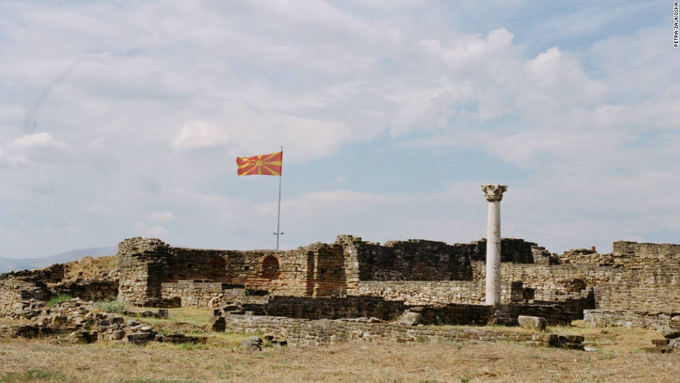 Macedonia plays host to thousands of archaeological sites including the ancient Roman ruins of Stobi, pictured here by Petra Zajkoska.