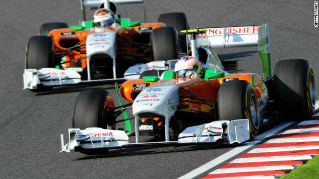 Force India became the Asian country's first Formula One team when they made their debut in 2008.