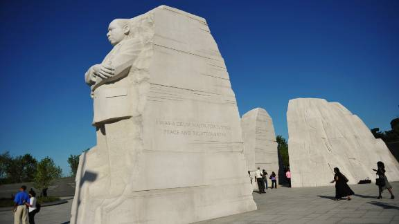 The truncated quote inscribed on the side of the Martin Luther King Jr. Memorial will be removed entirely, officials say.