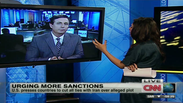 Iran facing more diplomatic pressure