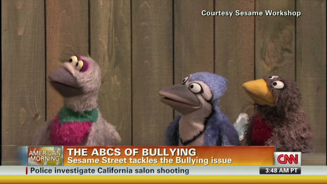 Sesame Street tackles the bullying issue