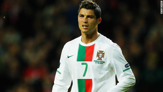 Cristiano Ronaldo's Portugal will have to overcome Bosnia Herzegovina to reach Euro 2012.