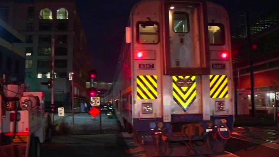 Amtrak trains collide in California