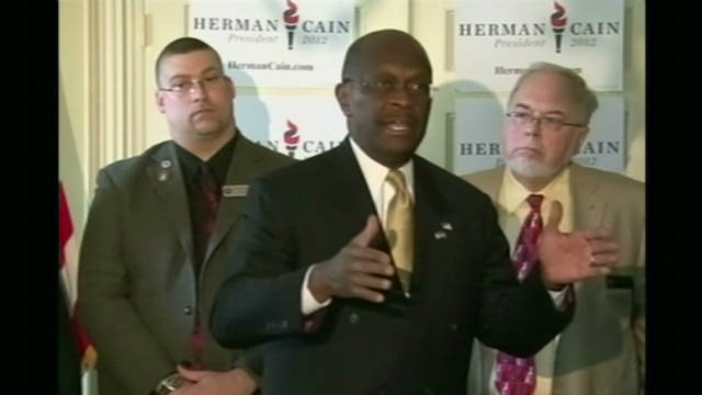 Cain's political star on the rise