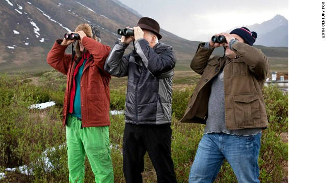 "Owen Wilson, Steve Martin and Jack Black are out to spot birds in ""The Big Year."""