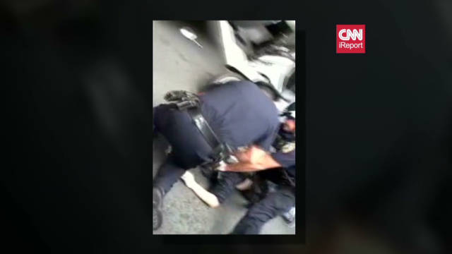 iReporter claims Occupy police brutality
