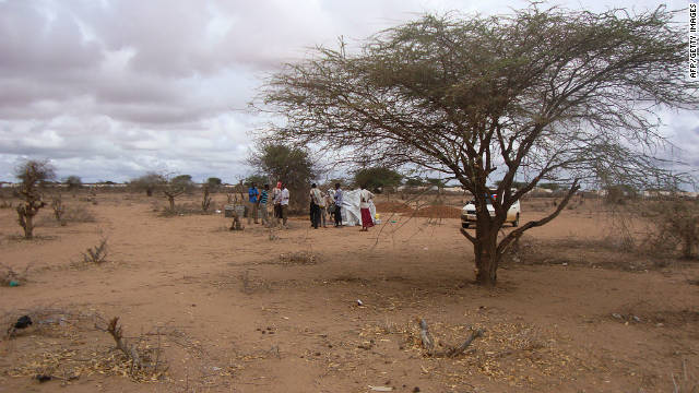 The Dadaab refugee camp in Kenya is home to tens of thousands of people, many of whom fled conflict in neighboring Somalia.