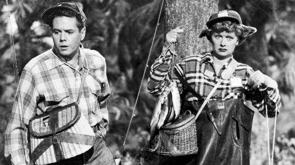 """Lucy and Ricky go camping in """"The Camping Trip,"""" which aired in 1953. """"I Love Lucy"""" became a way for the couple to salvage their marriage, which was strained by busy performance schedules."""