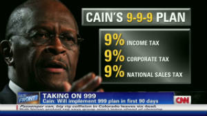 Herman Cain 9 Not A Gimmick