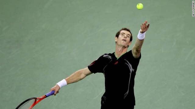 Andy Murray was dominant behind his service in his semifinal win over Kei Nishikori.