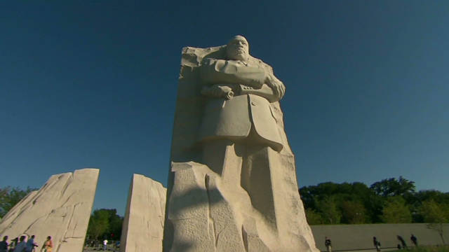 Time-lapse view of MLK Memorial