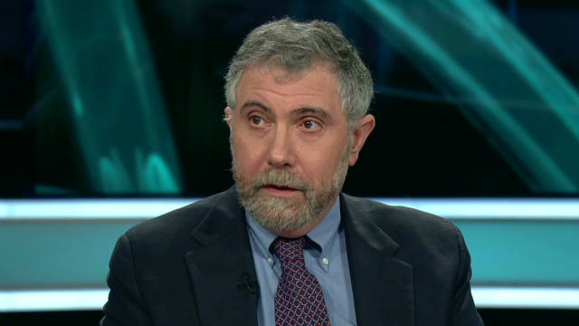 Krugman looks at Occupy Wall Street
