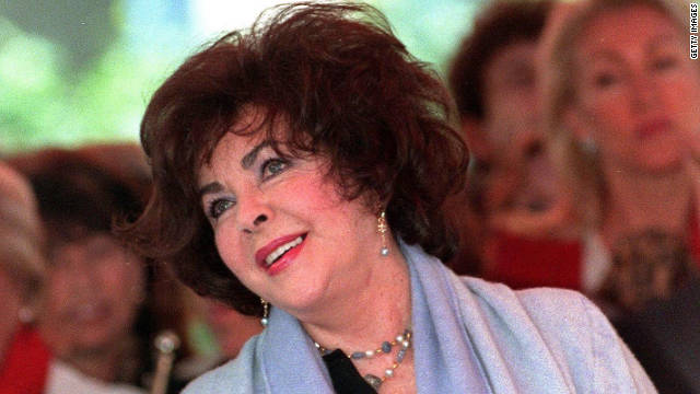 Guests spoke of Elizabeth Taylor's humor, beauty and generosity, and shared memories from her rich and colorful life.