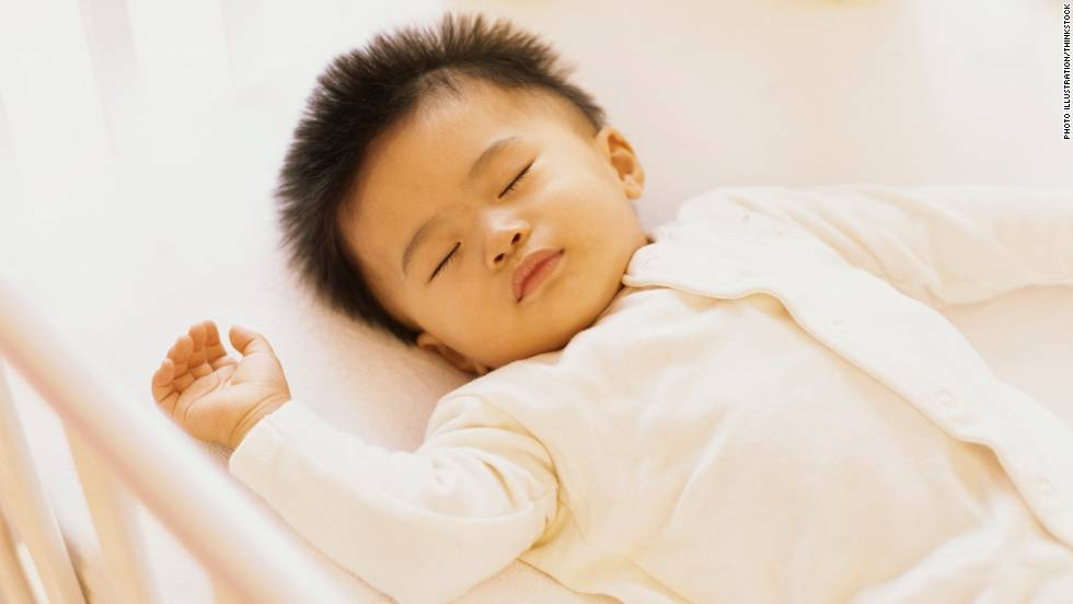 The AAP Now Recommends That Infants Sleep On Their Backs A Firm Mattress Without