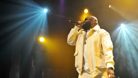 Rick Ross performs at the Best Buy Theater in New York City on March 4, 2011.
