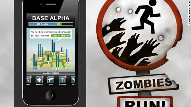 Zombies, Run! turns exercise into a game -- a terrifying, terrifying game.