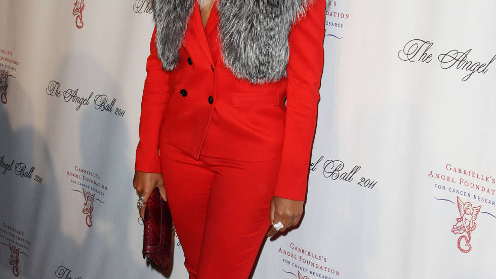 Eve attends the Angel Ball in New York City.