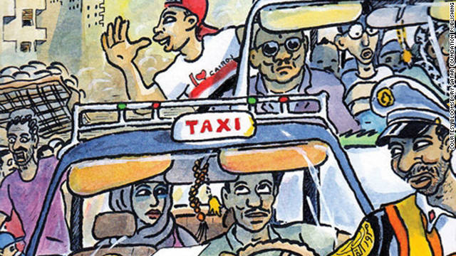 Khaled AlKhamissi's novel Taxi includes 58 fictional monologues with taxi drivers.