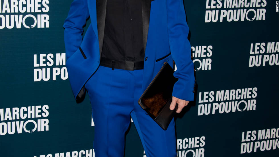 Juliette Binoche attends a movie premiere in Paris, France.