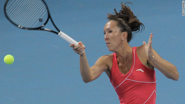 Serbia's Jelena Jankovic rose to the top of the women's world rankings in August 2008.
