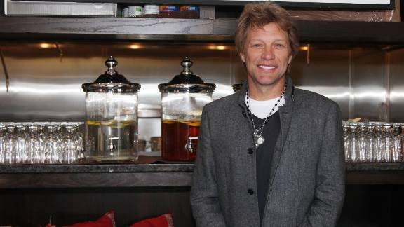 In October 2011, rocker Jon Bon Jovi opened the Soul Kitchen restaurant in his home state of New Jersey.  The pay-as-you-go community kitchen has no prices on the menu but asks people to volunteer or donate at least $10 for their meal.  The buzz around this endeavor landed Bon Jovi on the top of Forbes Magazine