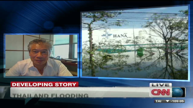 Flooding impacts Thai businesses