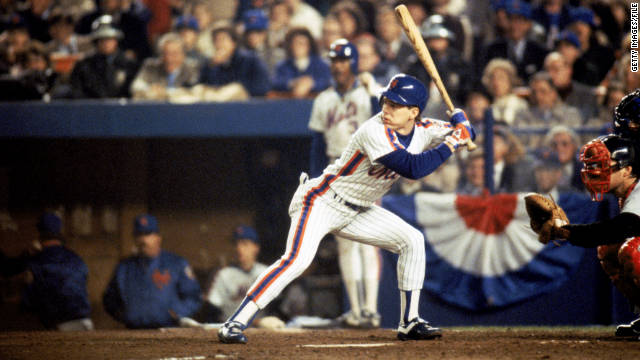Lenny Dykstra led the New York Mets to a World Series championship in 1986.