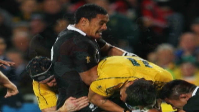 Rugby's Jerome Kaino chats with CNN