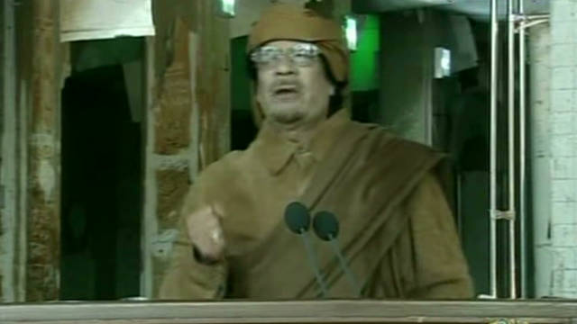 Inside Gadhafi's last moments